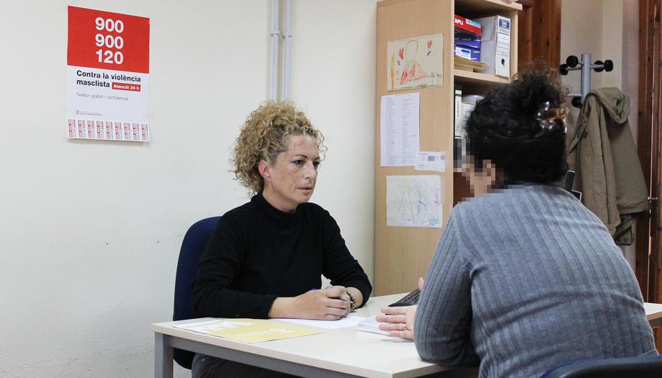 En total el SIAD va atendre 214 dones i va fer 589 intervencions, un 28,8% més que l'any anterior.