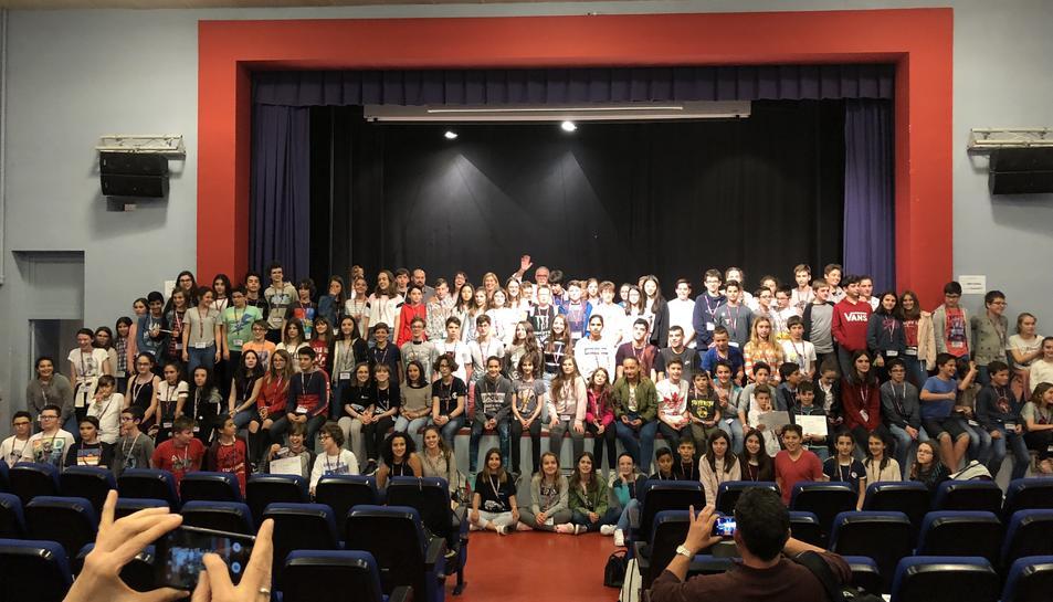 Foto de tots els participants del