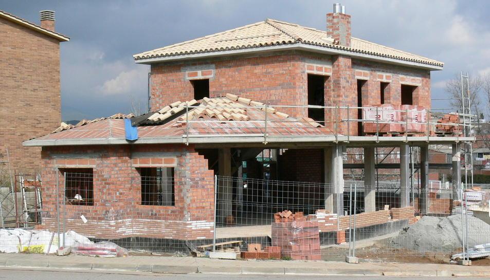 Entre els mesos de gener i març, s'han visat 172 nous habitatges d'ús residencial.