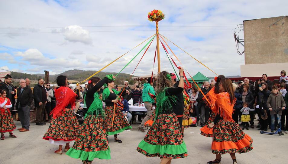 El Ball de Gitanes de la Bisbal també participarà en l'acte.