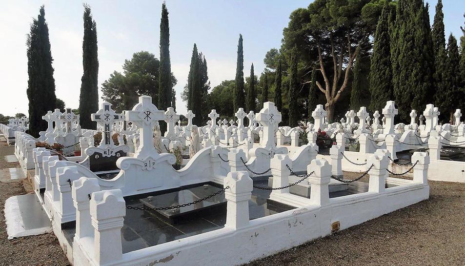 Imatge d'arxiu del Cementiri de Cambrils on s'han produït els fets.