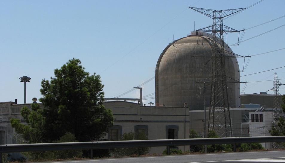 Imatge de la Central Nuclear Vandellòs II.