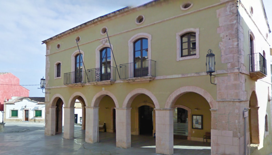 Imatge de l'edifici de l'Ajuntament d'Altafulla.
