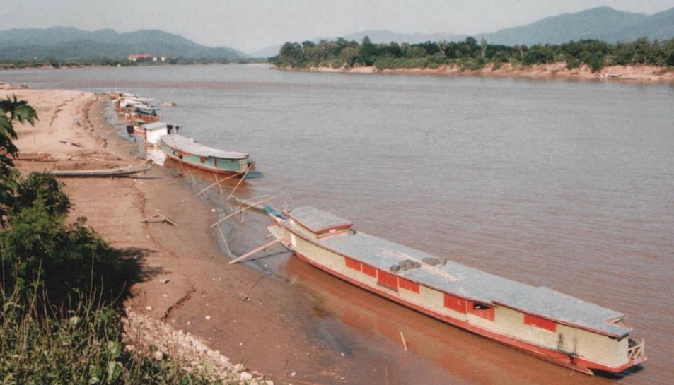Imatge del riu Mekong, al Vietnam.