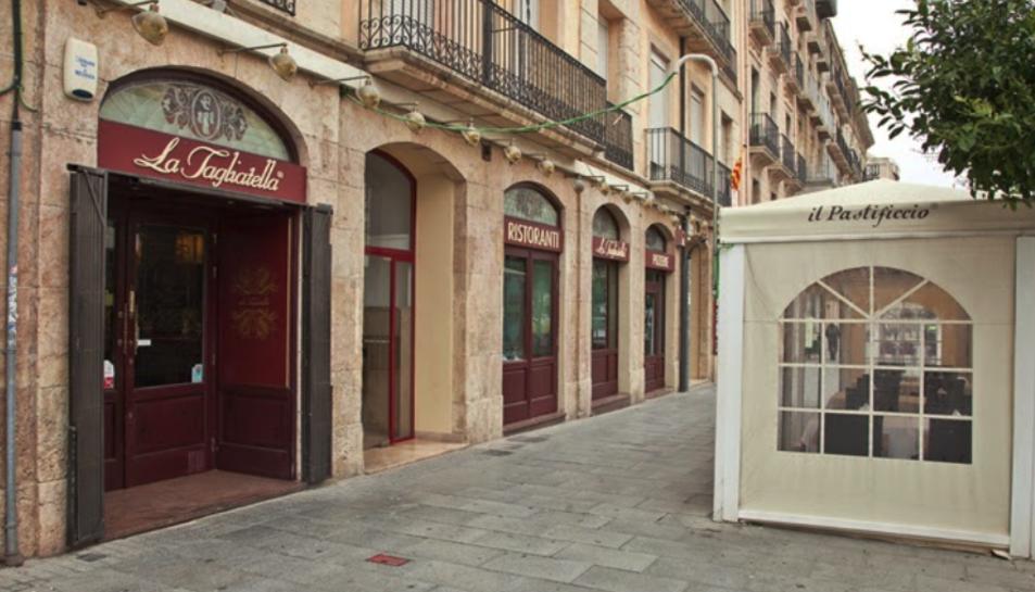 Imatge d'arxiu del local de la Tagliatella situat a la Rambla Nova de Tarragona.