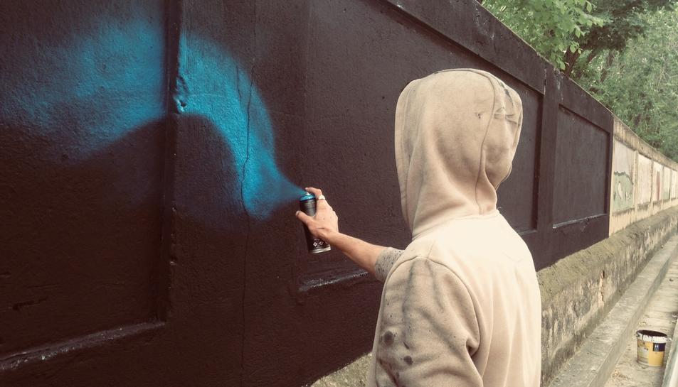 El taller de grafitti anirà a càrrec del grafiter tarragoní Dabuten Tronko.