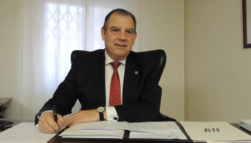 Fernando Vizcarro presideix l'entitat des de l'any 2008.