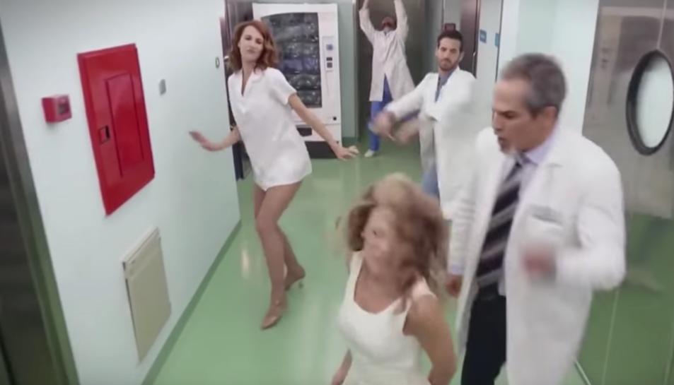 Captura d'un vídeo d'un programa de TVE que va indignar al col·lectiu d'infermers