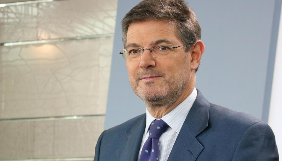 Imatge d'arxiu del ministre de Justícia, Rafael Català.