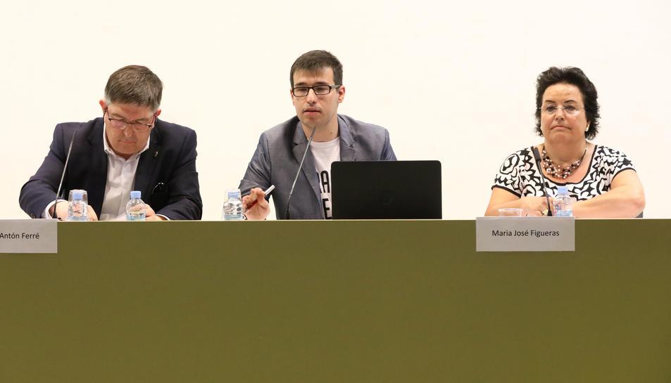 Els estudiants ja van mostrar el seu descontentament en el debat de Ferré i Figueras dijous passat.