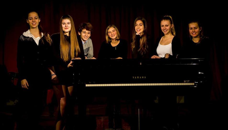 Laura Farré, Mihaela Floruc, Olga Floruc, Lautaro Montt, Sònia Piqué, Gal·la Sisquella i Lídia Soldevila oferiran obres de Beethoven, Chopin, Albéniz i Liszt, entre altres.