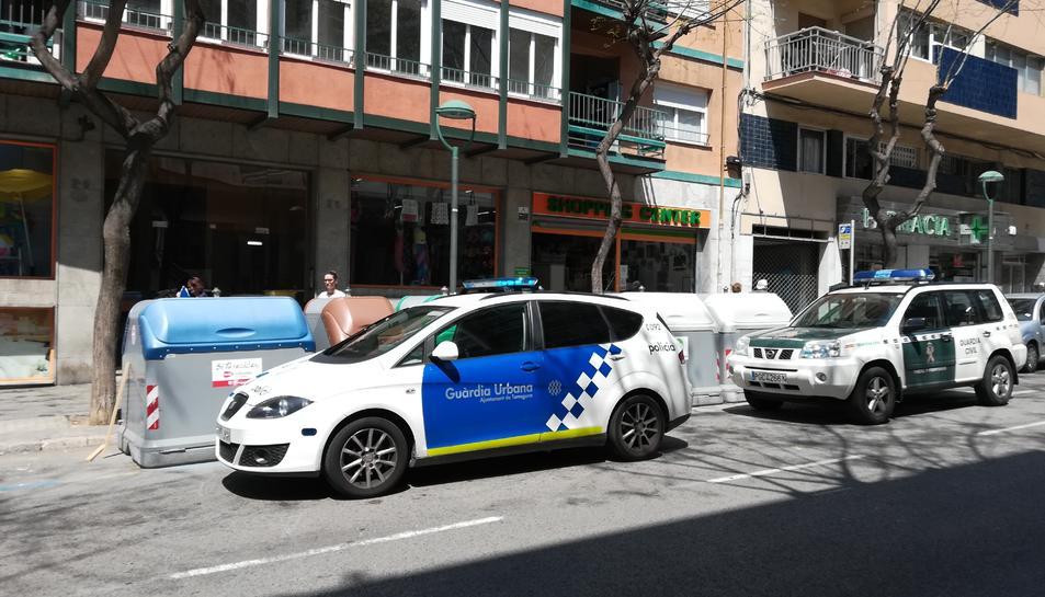 La inspecció s'ha fet dintre d'un basar xinès del carrer Rovira i Virgili.