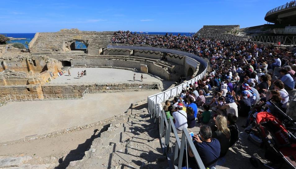 L'Amfiteatre serà escenari de la cerimònia inaugural d'aquesta competició esportiva de la Grècia clàssica.