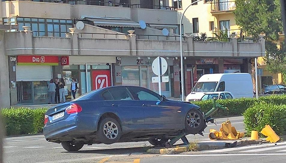L'accident s'ha produït al voltant de les 17 hores.