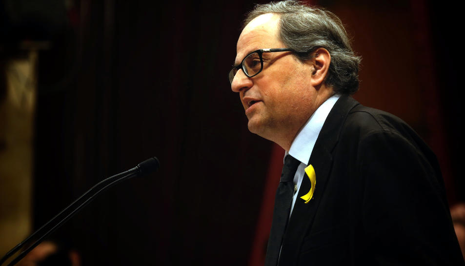 El president de la Generalitat ha modificat el seu Govern per superar el bloqueig.