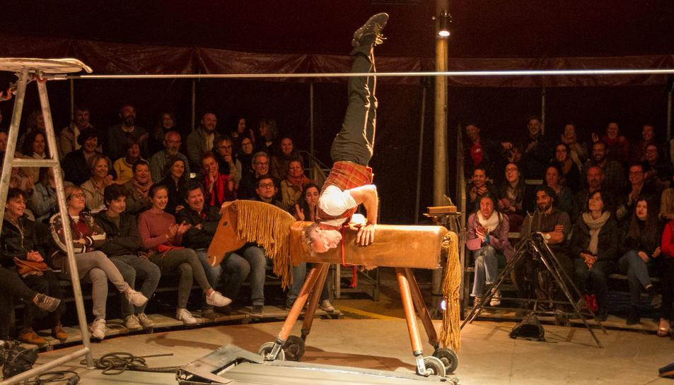 'L'homme Cirque', el referent del circ de carpa.