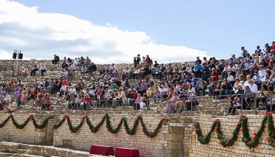 Imatges de la inauguració de Tarraco Viva