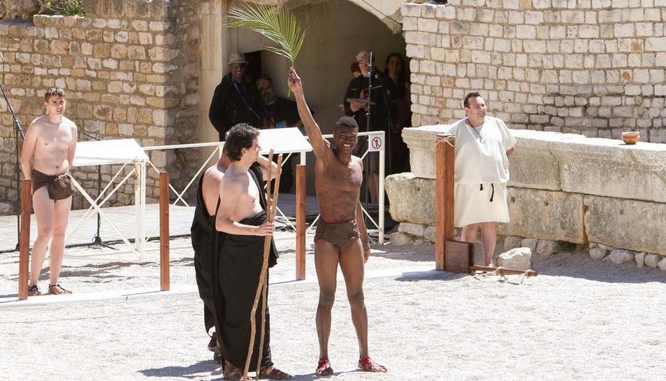 L'amfiteatre ha acollit la inauguració del festival romà de Tarragona