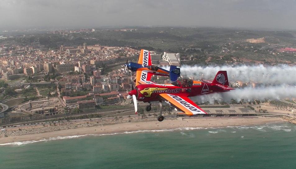 Dos avions de Repsol a l'assaig de divendres