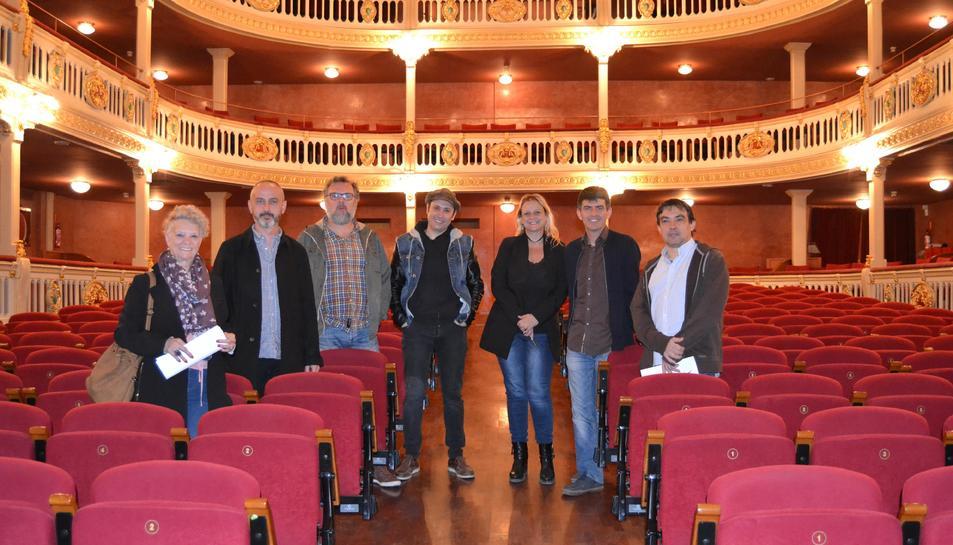 Imatge de la presentació de la programació del Teatre Bartrina per a la tardor.
