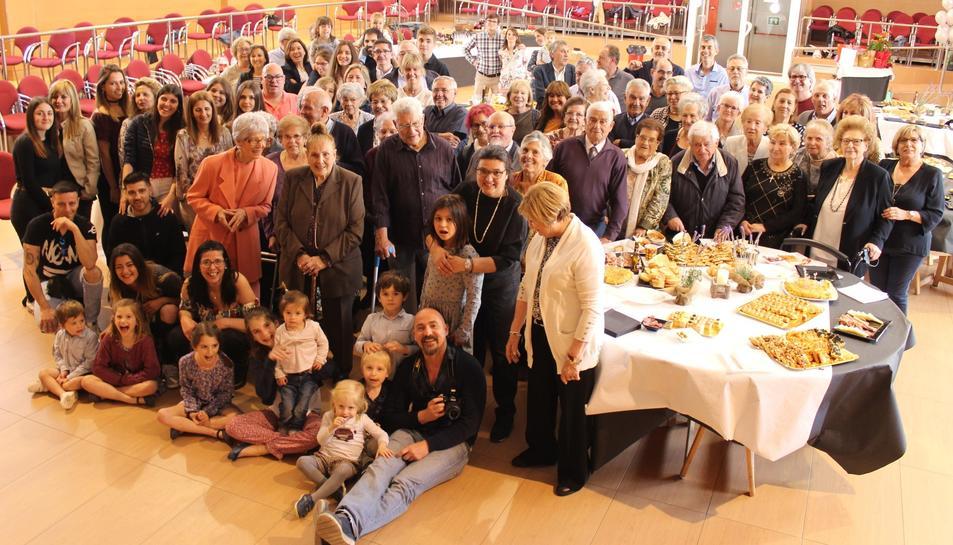 Un centenar de persones van celebrar el 90 aniversari de
