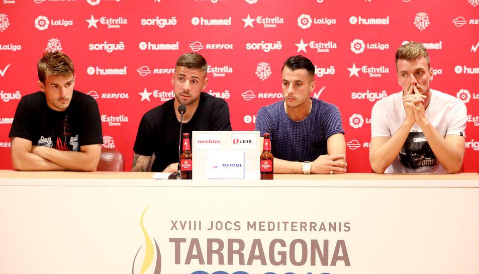 Juan Muñiz, Xavi Molina, Sergio Tejera i Manu Barreiro.