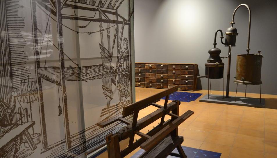 L'exposició sobre la història de Reus estarà oberta durant un any.