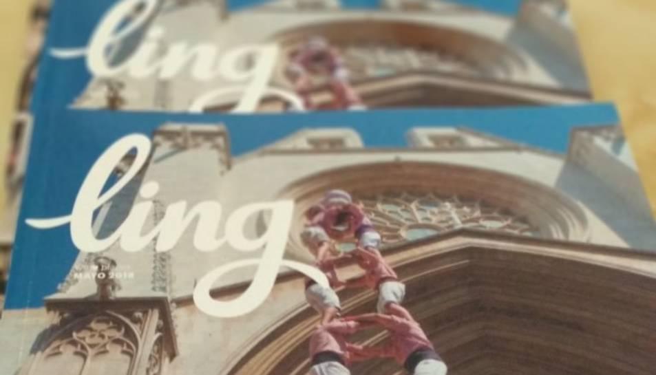 Imatge de la portada de la revista 'Ling' del mes de maig.