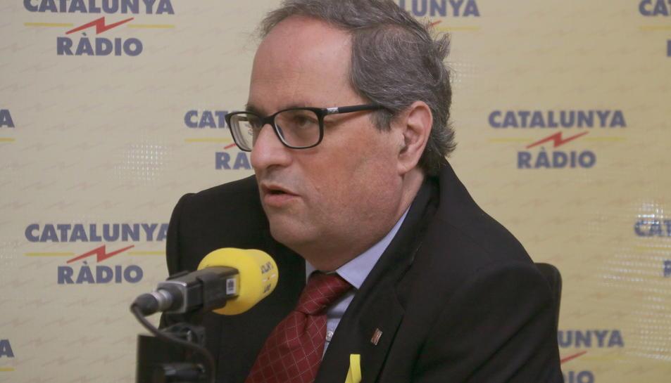 El president repetirà la fórmula de Puigdemont per prometre el càrrec «amb fidelitat al poble de Catalunya».