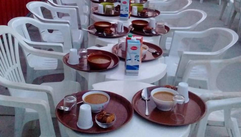 Una imatge d'arxiu dels menús que es van servir l'any passat.