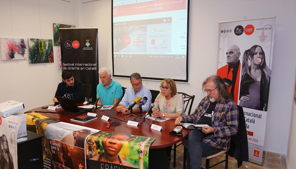 Imatge de la presentació de l'onzena edició del FIC-CAT.
