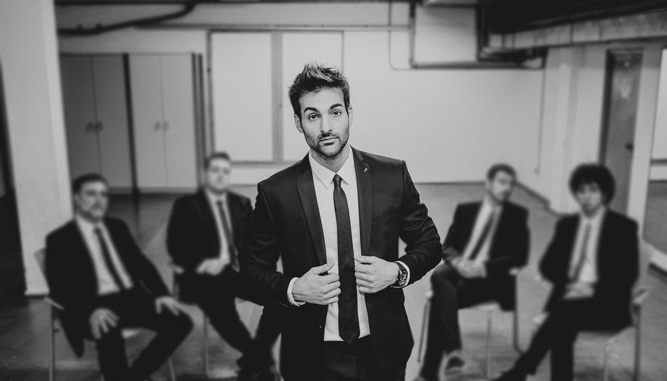 L'artista tarragoní actuarà amb la seva banda al complet a La Pobla.