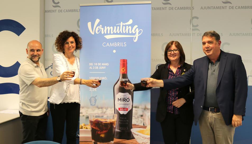 Cambrils celebrarà el seu primer 'Vermuting' del 18 de maig al 3 de juny.