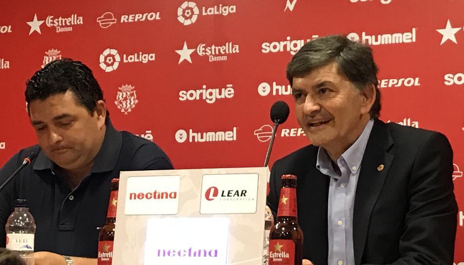 Emilio Viqueira i Josep Maria Andreu.