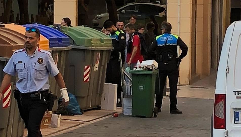 Els Mossos han acudit per un avís de robatori.
