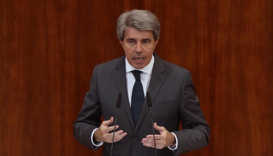 L'Assemblea de Madrid ha investit president Ángel Garrido com a president de