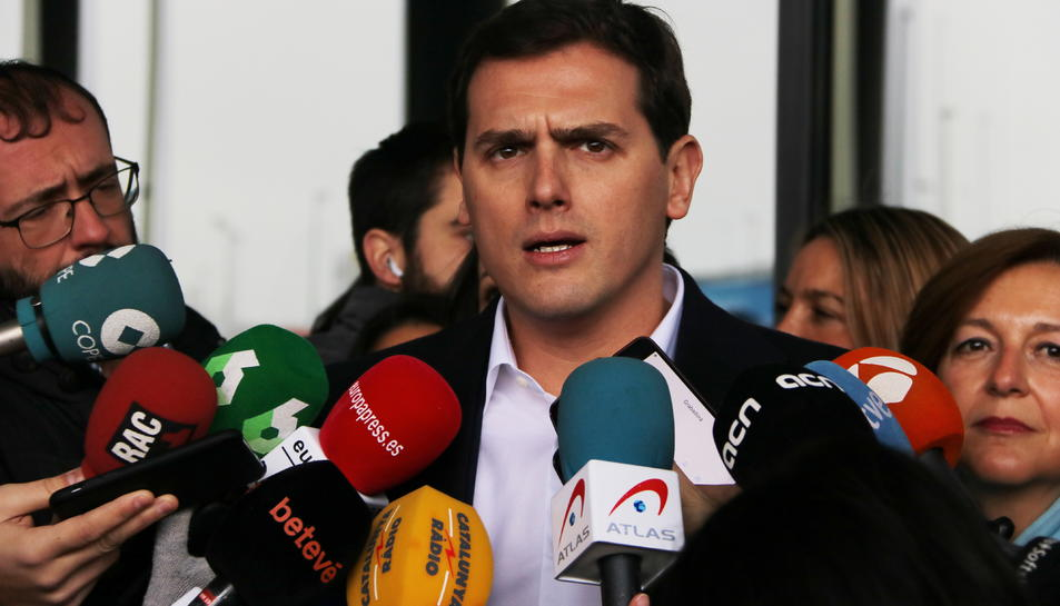 El president de Ciutadans, Albert Rivera.