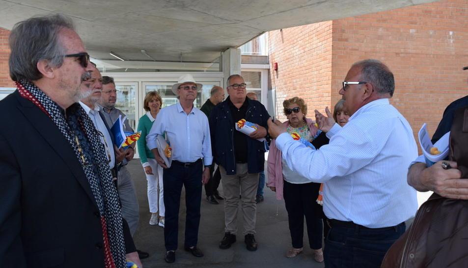 El Senat tarragoní visita l'Anella Mediterrània