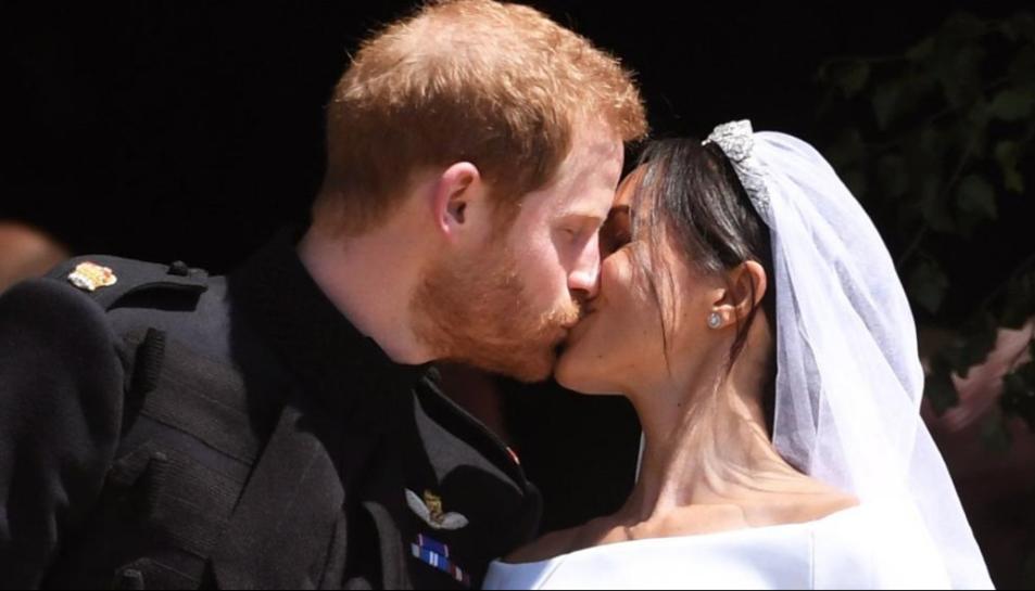 El príncep Harry i Meghan Markle recent casats