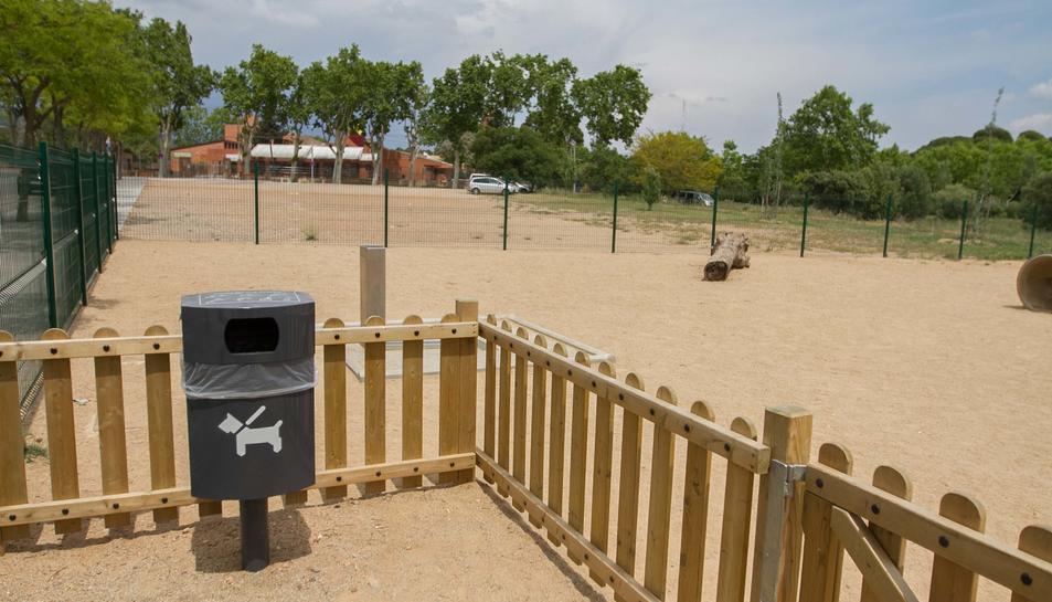 El barri Gaudí va inaugurar al febrer una nova zona per a gossos.