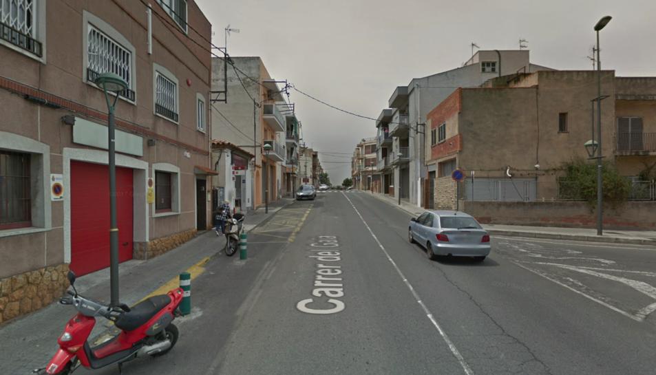 L'atropellament es va produir al carrer Gaià.
