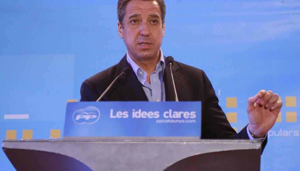 Imatge d'arxiu de l'expresident valencià i exdiputat del PP, Eduardo Zaplana.