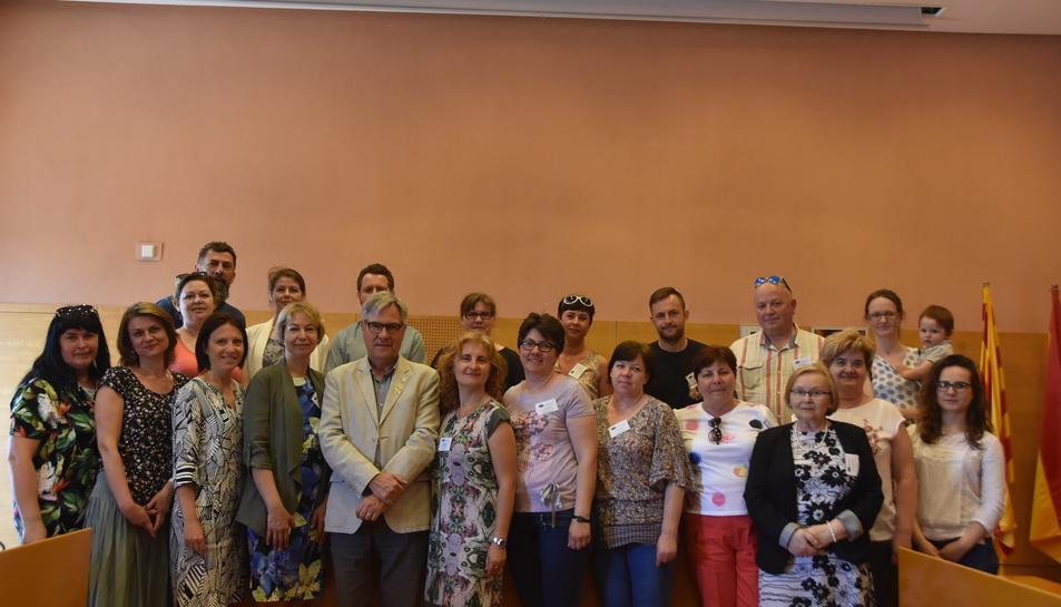 Imatge del participants de la