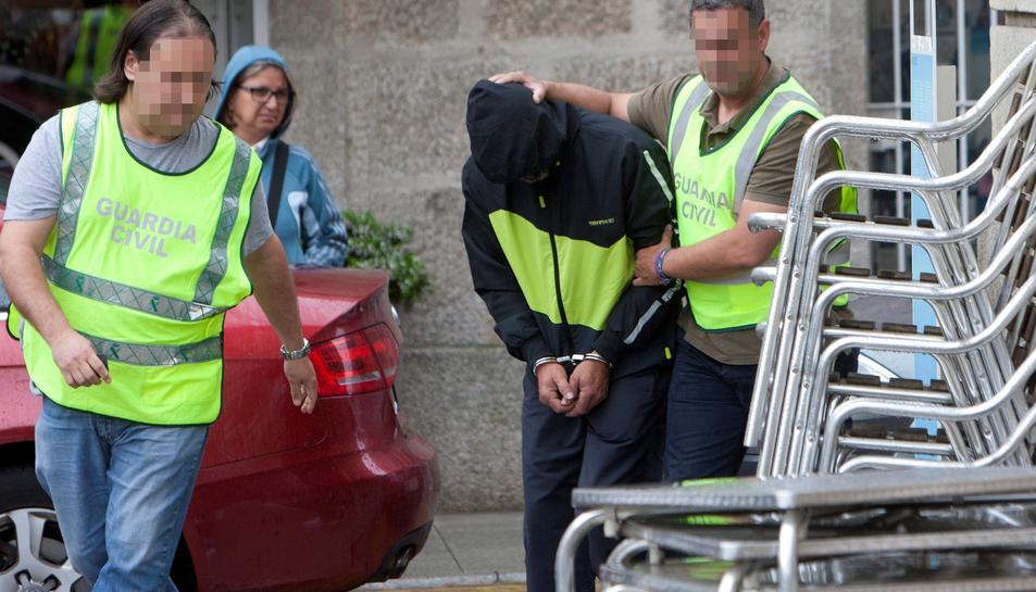 El detingut per l'explosió del taller clandestí de pirotècnia a Tui ha passat a disposició judicial.