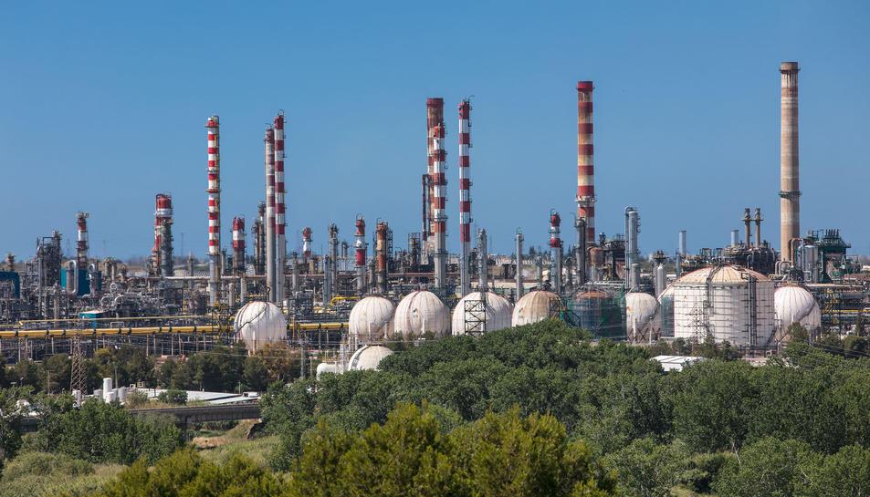 Complex Industrial de Repsol a Tarragona.