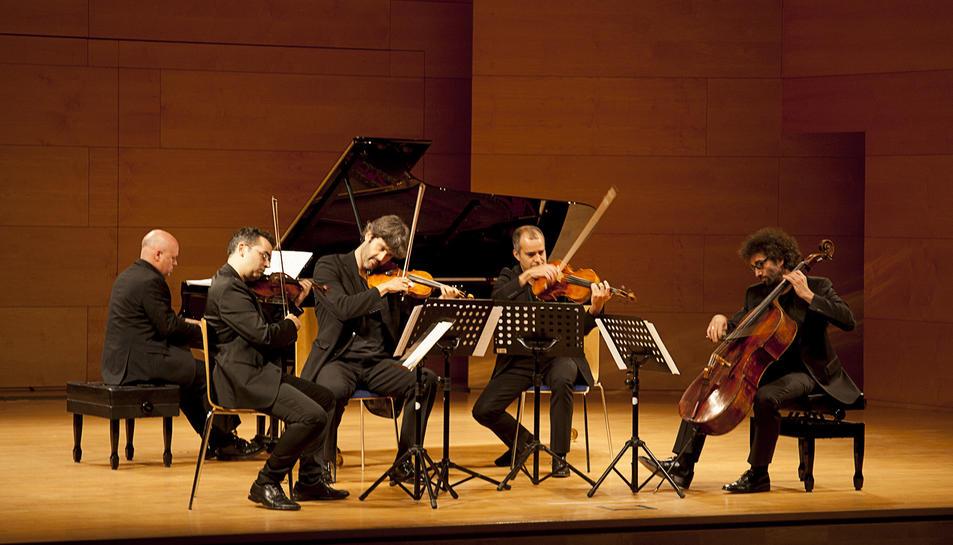 Imatge d'arxiu de l'Alart Quartet.