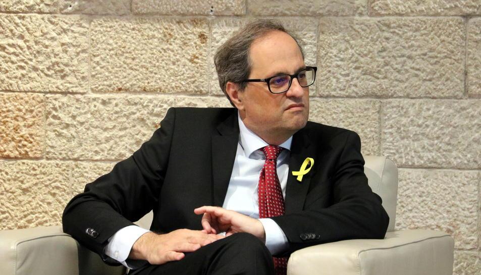 Imatge del president de la Generalitat, Quim Torra.