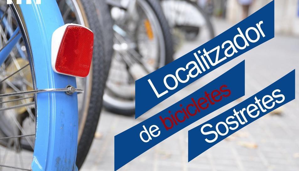 Els Mossos posen un localitzador de bicicletes robades a disposició dels ciutadans