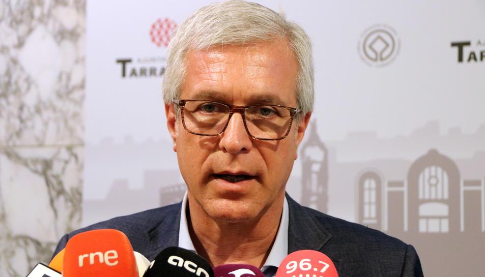 La Confraria del Cava Sant Sadurní investirà l'alcalde de Tarragona, Josep Fèlix Ballesteros, com a Confrare d'Honor.