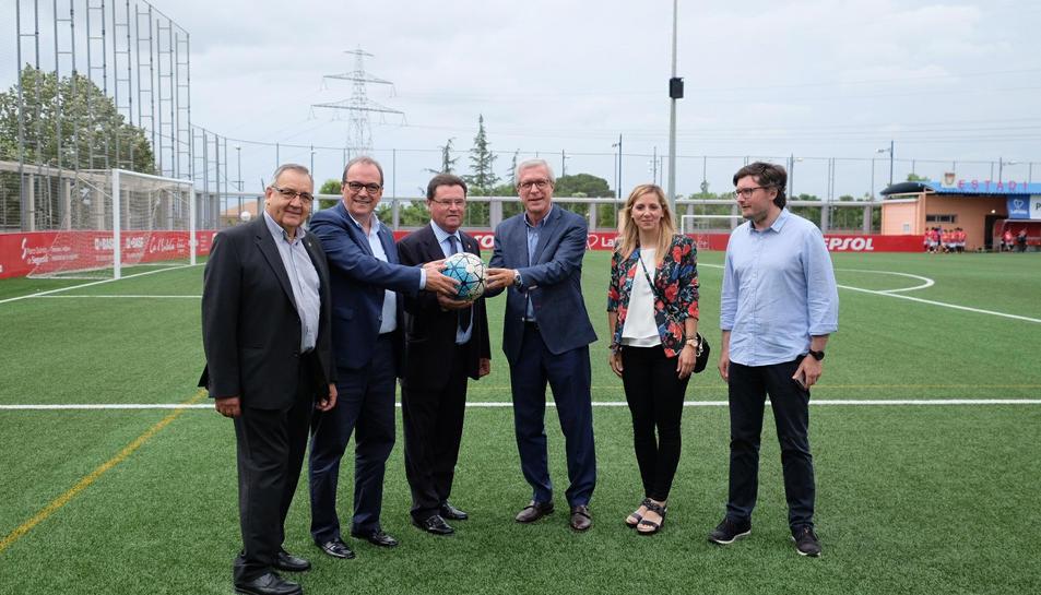 El recinte acollirà fins a sis partits de futbol durant l'esdeveniment esportiu.